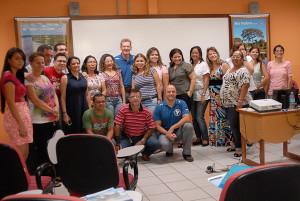 Professores que fizeram a oficina em Rio Branco. Foto Margi Moss